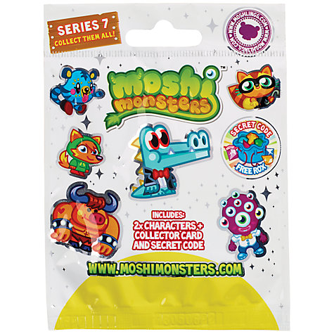 Buy Moshi Monsters Blind Bag, Series 7, Assorted Online at johnlewis.com