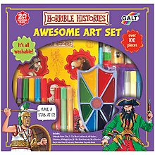 Buy Horrible Histories Awesome Art Set Online at johnlewis.com