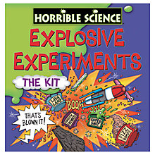 Buy Horrible Science Explosive Experiments Online at johnlewis.com