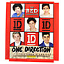 One Direction Red Collection Stickers, Pack of 5