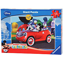 Buy Disney Mickey Mouse 24 Piece Floor Puzzle Online at johnlewis.com