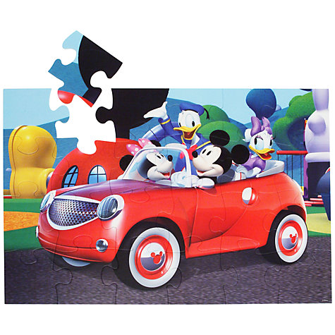 Buy Disney Mickey Mouse 24 Piece Floor Jigsaw Puzzle Online at johnlewis.com