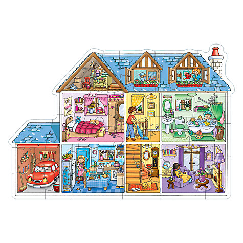 Buy Orchard Toys Dolls House Jigsaw Puzzle Online at johnlewis.com
