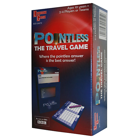 Buy Pointless Travel Game Online at johnlewis.com