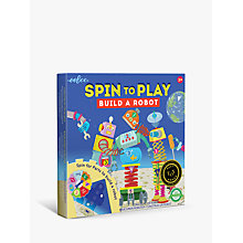 Buy Eeboo Build A Robot Puzzle and Spinner Game Online at johnlewis.com