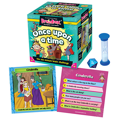Buy BrainBox Once Upon A Time 10 Minute Challenge Game Online at johnlewis.com