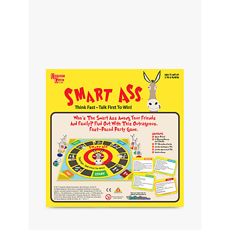 Buy Smart Ass Card Game Online at johnlewis.com