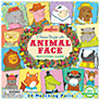 Eeboo I Never Forget An Animal Face Matching Game
