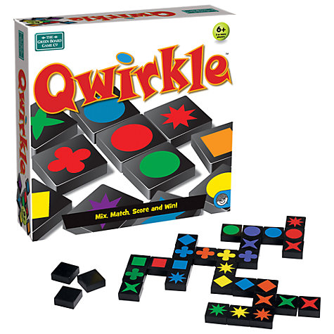 Buy Greenboard Qwirkle Online at johnlewis.com