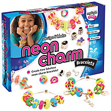 Buy myStyle Make Your Own Neon Charm Bracelet Kit Online at johnlewis.com