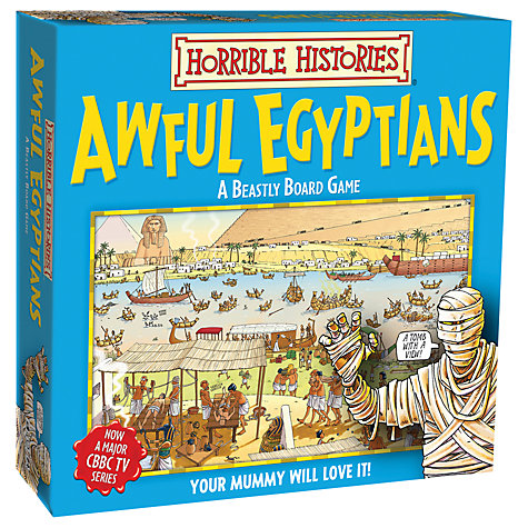 Buy Horrible Histories Awful Egyptians Board Game Online at johnlewis.com