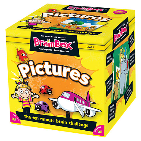 Buy BrainBox My First Pictures 10 Minute Challenge Game Online at johnlewis.com