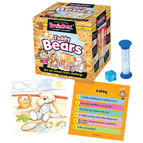 Buy BrainBox Teddy Bear 10 Minute Challenge Game Online at johnlewis.com