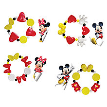 Buy Disney Mickey and Minnie Mouse Fashion Bracelet and Sticker Set Online at johnlewis.com