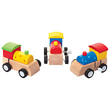 Buy Wooden Clockwork Train Online at johnlewis.com