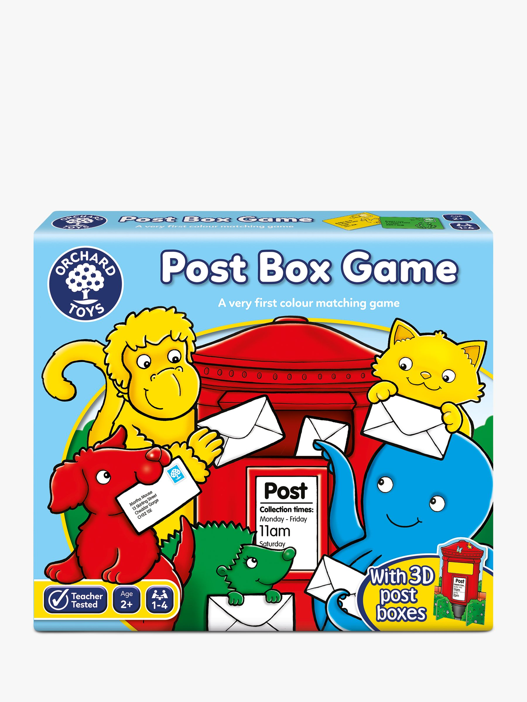 Orchard Toys Orchard Toys Post Box Game