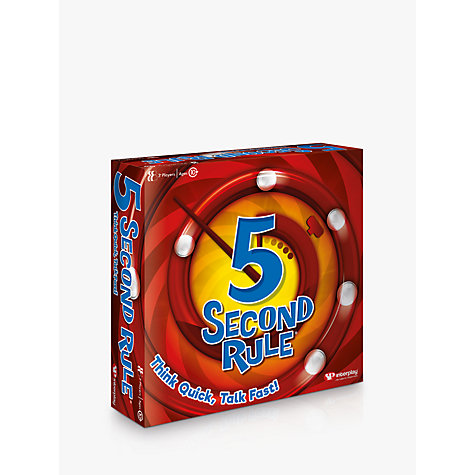 Buy 5 Second Rule Game Online at johnlewis.com