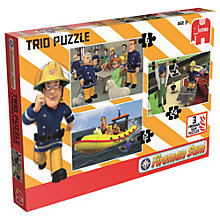 Buy Fireman Sam Jigsaw Puzzles, Pack of 3 Online at johnlewis.com