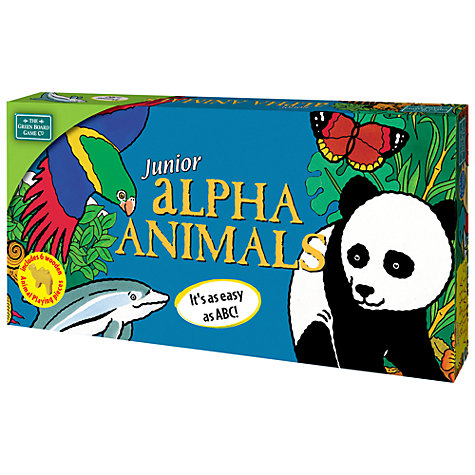 Buy Greenboard Junior Alpha Animals Online at johnlewis.com