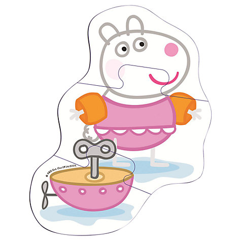 Buy Peppa Pig Bath Puzzle Online at johnlewis.com