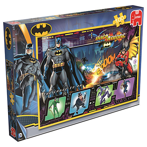Buy Batman 100 Piece Jigsaw Puzzle, Assorted Online at johnlewis.com