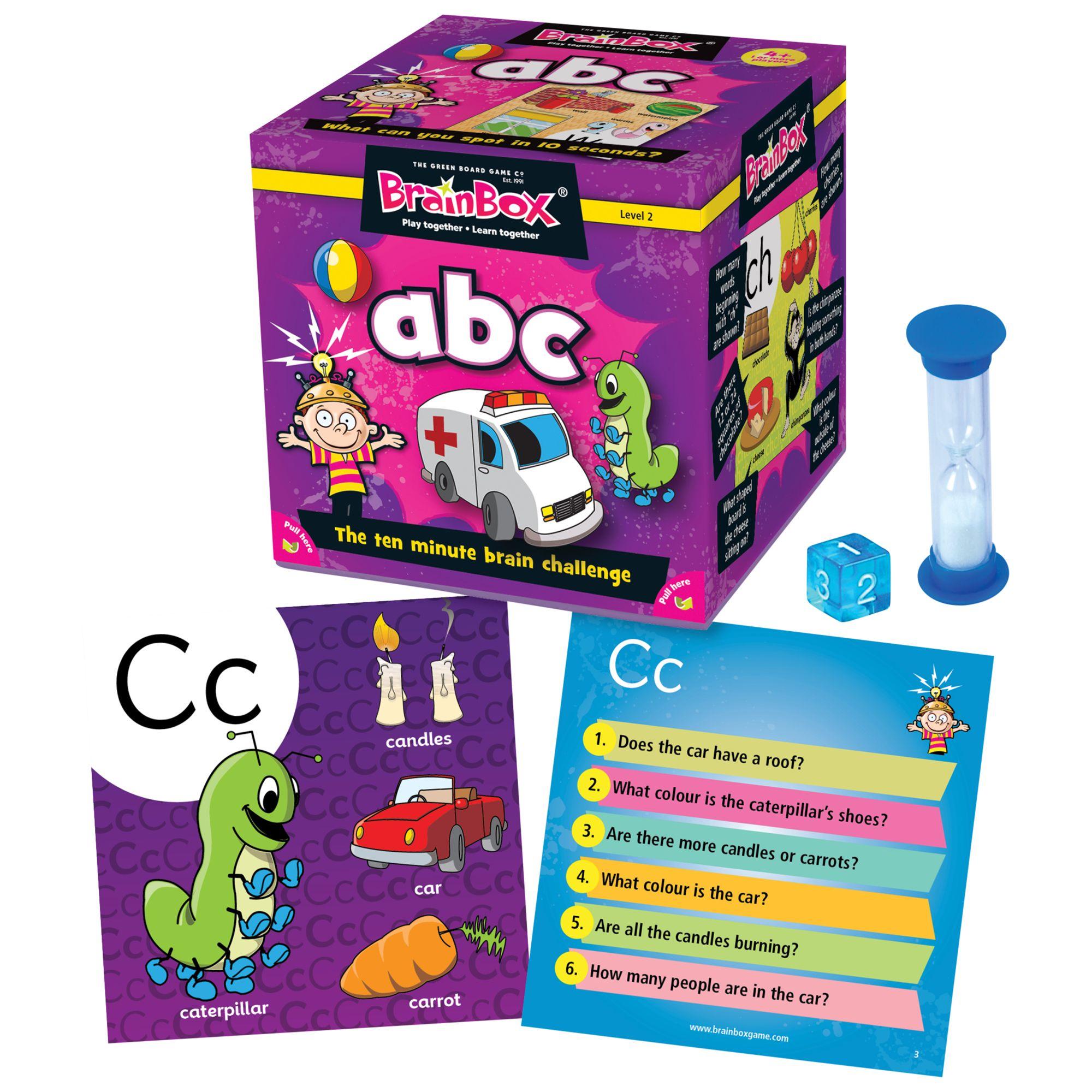 BrainBox BrainBox My First ABC Ten Minute Challenge Game