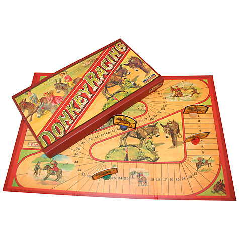 Buy House of Marbles Donkey Racing Vintage Style Board Game Online at johnlewis.com