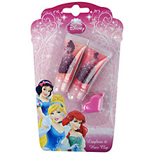 Buy Disney Princess Lip Gloss & Hair Clip Set Online at johnlewis.com