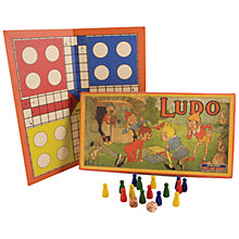 Buy House of Marbles Ludo Vintage Style Board Game Online at johnlewis.com