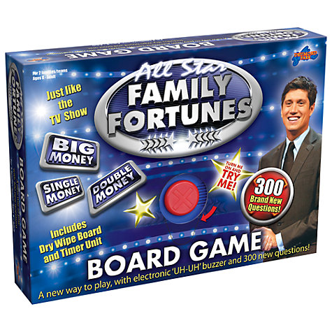Buy Family Fortunes Board Game Online at johnlewis.com