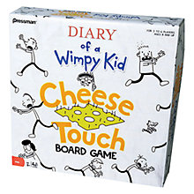 Buy Paul Lamond Games Diary Of Wimpy Kid Cheese Touch Board Game Online at johnlewis.com
