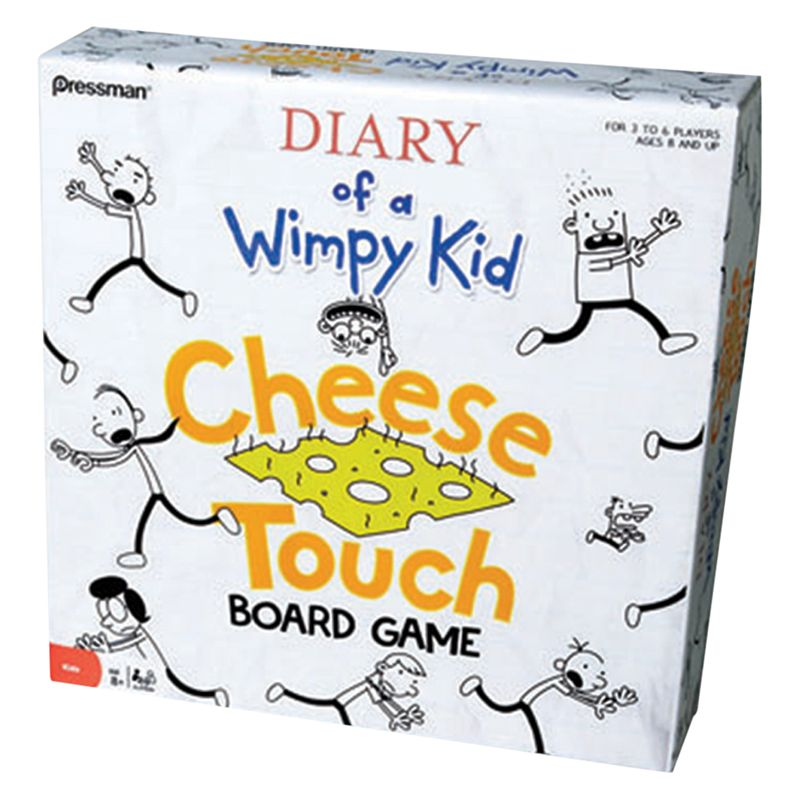 Diary Of Wimpy Kid Diary Of Wimpy Kid Cheese Touch Board Game