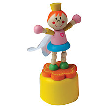 Buy Wobbly Wooden Fairies, Assorted Online at johnlewis.com