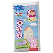 Buy Peppa Pig Mini Clay Buddies, Assorted Online at johnlewis.com