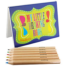 Buy Seedling My Little Drawing Set Online at johnlewis.com