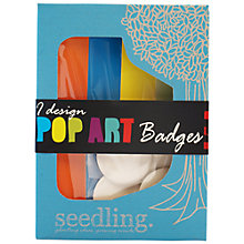 Buy Seedling Design Pop Art Badges Kit Online at johnlewis.com