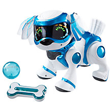 Buy Character Options Teksta Robotic Puppy, Blue Online at johnlewis.com