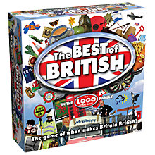 Buy Drumond Park Best Of British Logo Game Online at johnlewis.com