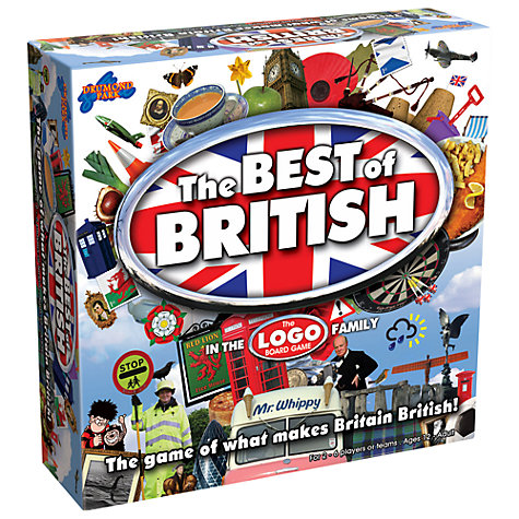 Buy Drumond Best Of British Logo Game Online at johnlewis.com