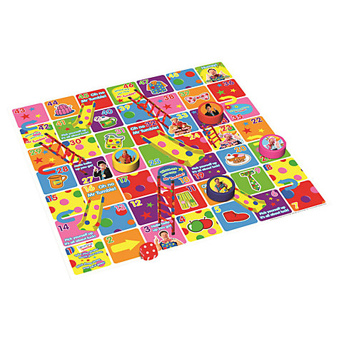 Buy Something Special Mr Tumble's Slides and Ladders Floor Game Online at johnlewis.com