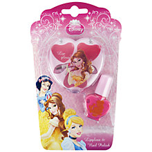 Buy Disney Princess Lip Gloss & Nail Polish, Assorted Online at johnlewis.com