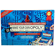Buy Make Your Own Opoly Online at johnlewis.com