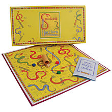 Buy Snakes and Ladders Vintage Style Board Game Online at johnlewis.com