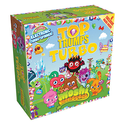 Buy Moshi Monsters Top Trumps Turbo Online at johnlewis.com