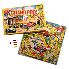 Buy Grand Prix Race Vintage Style Board Game Online at johnlewis.com