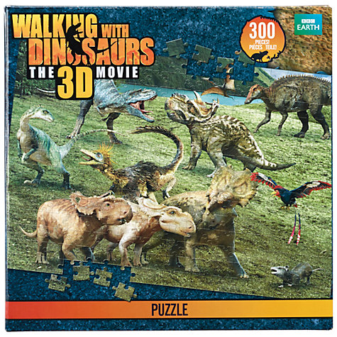 Buy Walking With Dinosaurs 300 Piece Puzzle Online at johnlewis.com