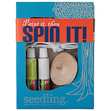 Buy Seedling Paint It Spin It Top Online at johnlewis.com