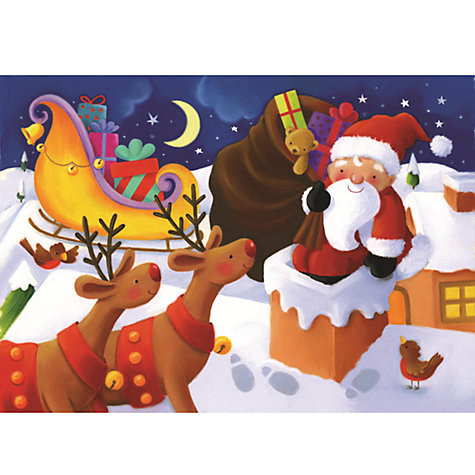 Buy Christmas 35 Piece Puzzle, Assorted Online at johnlewis.com