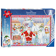 Buy Ravensburger The Snowman and the Snowdog 100 Piece Puzzle Online at johnlewis.com