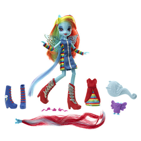 Buy My Little Pony Equestria Doll With Accessories, Assorted Online at johnlewis.com